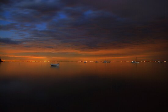 View across the bay by Michael Rowley