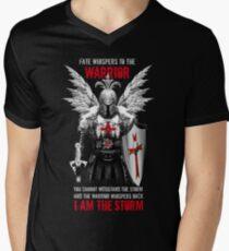 Knight's Templar Warrior Men's V-Neck T-Shirt