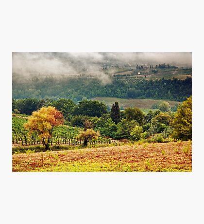 Autumnal hills Photographic Print