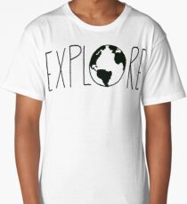 Explore the Globe Long T-Shirt