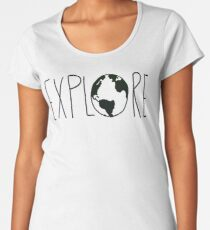 Explore the Globe Women's Premium T-Shirt