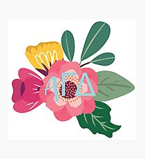 agd flower Photographic Print