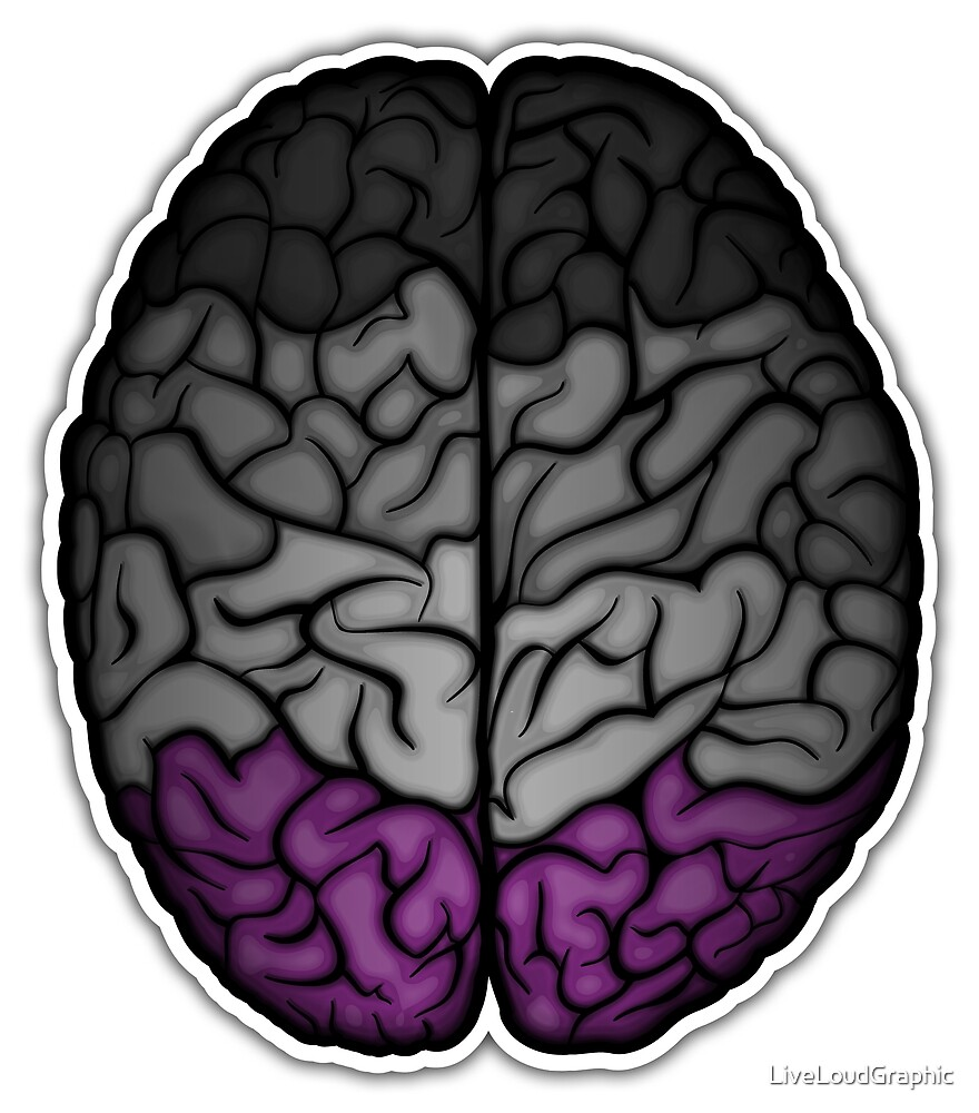 Asexual Brain by LiveLoudGraphic
