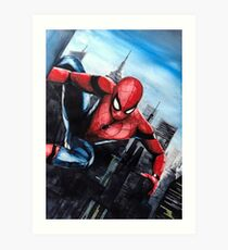 The Incredible Spider by LegacyArt86 Art Print