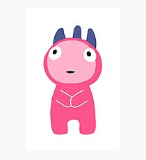 Pink Monster Photographic Print