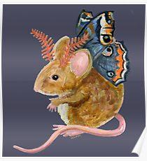 Flutter Mouse Poster