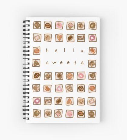 Sweet Chocolates Spiral Notebook