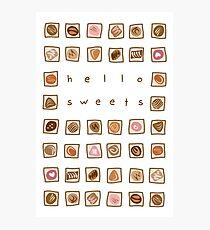 Sweet Chocolates Photographic Print