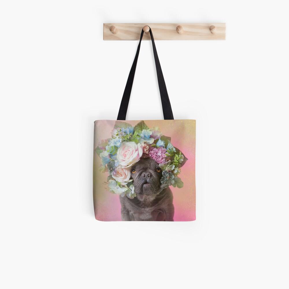 Flower Power, Pika Tote Bag