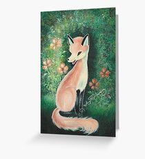 The Pretty Red Fox (Card) Greeting Card