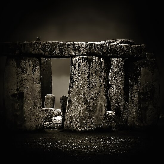 Stone Henge II by Didi Bingham
