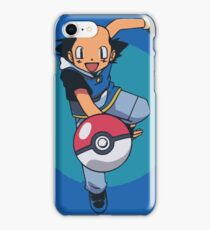 Ash Without a Hat iPhone Case/Skin