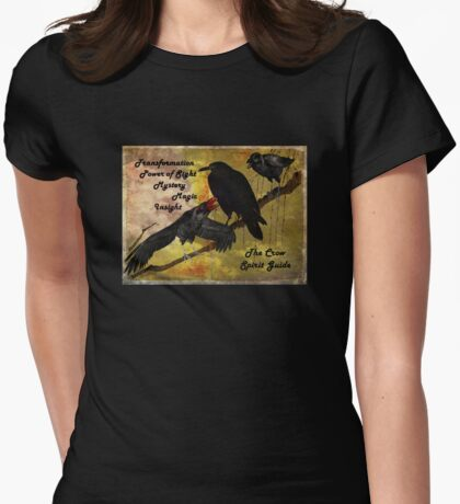 Crow and Raven Spirit Guide T-Shirt