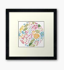 Such Pretty Summer Flowers Framed Print