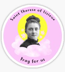 Saint Therese of Lisieux Sticker