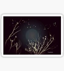 Firefly Moon Sticker