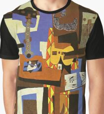 Three Musicians by  Pablo Picasso Graphic T-Shirt