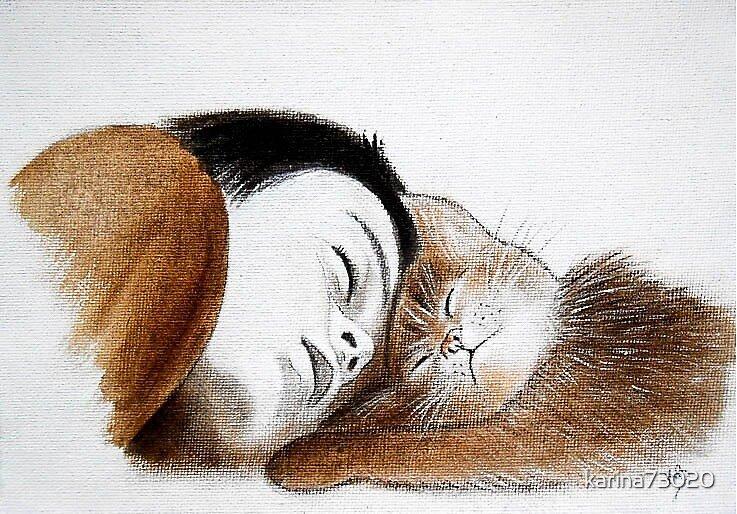 Asleep ... Chuttt ... :) by karina73020