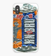 IrnBru - crushed tin iPhone Case/Skin