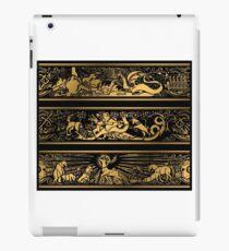 Spiel aus Gold iPad-Hülle & Klebefolie