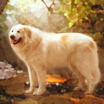 Great Pyrenees Alazon by GreatPyrFancy
