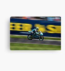 Gleaming - motorbike Canvas Print