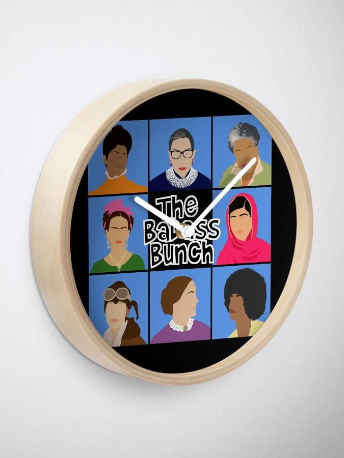 Alternate view of Badass Bunch Clock