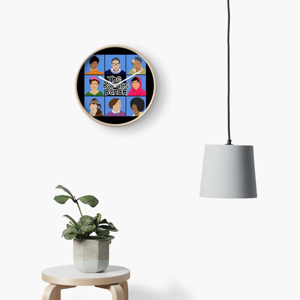 Badass Bunch Clock