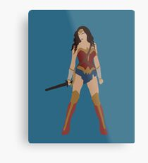 Wonder Metal Print  sc 1 st  Redbubble & Wonder Woman: Wall Art | Redbubble
