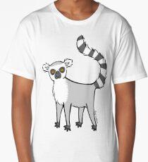 Ring Tailed Lemur Long T-Shirt
