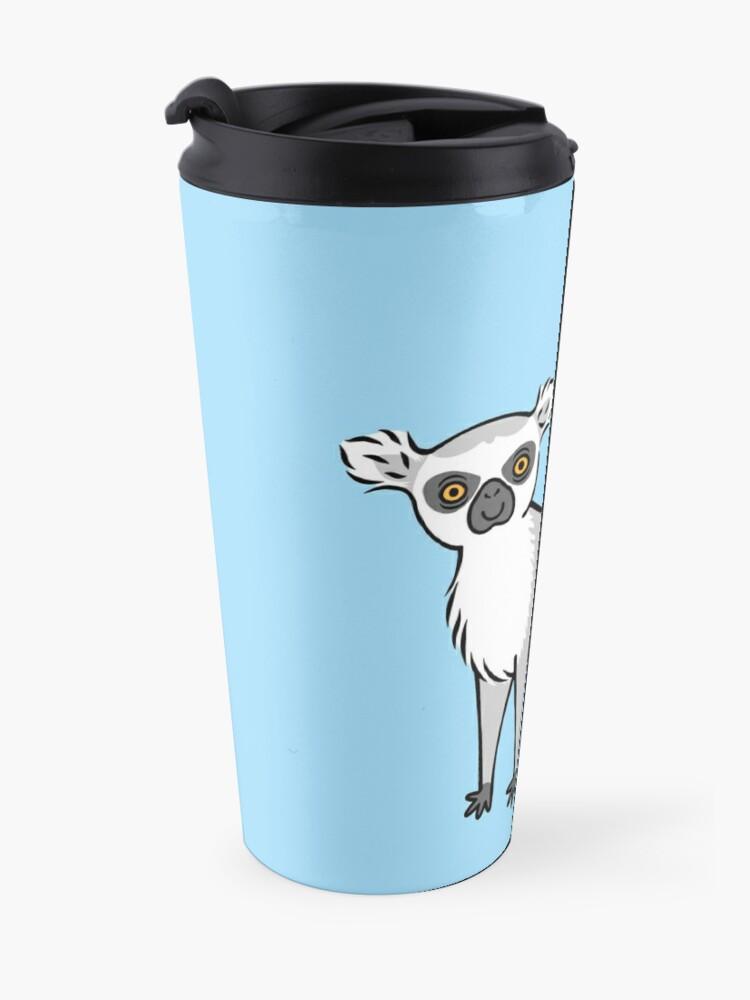 Alternate view of Ring Tailed Lemur Travel Mug
