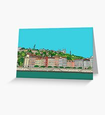 Fourvière of Lyon Greeting Card