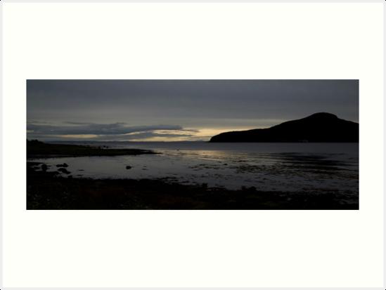 Holy Isle Arran by Doug Cook