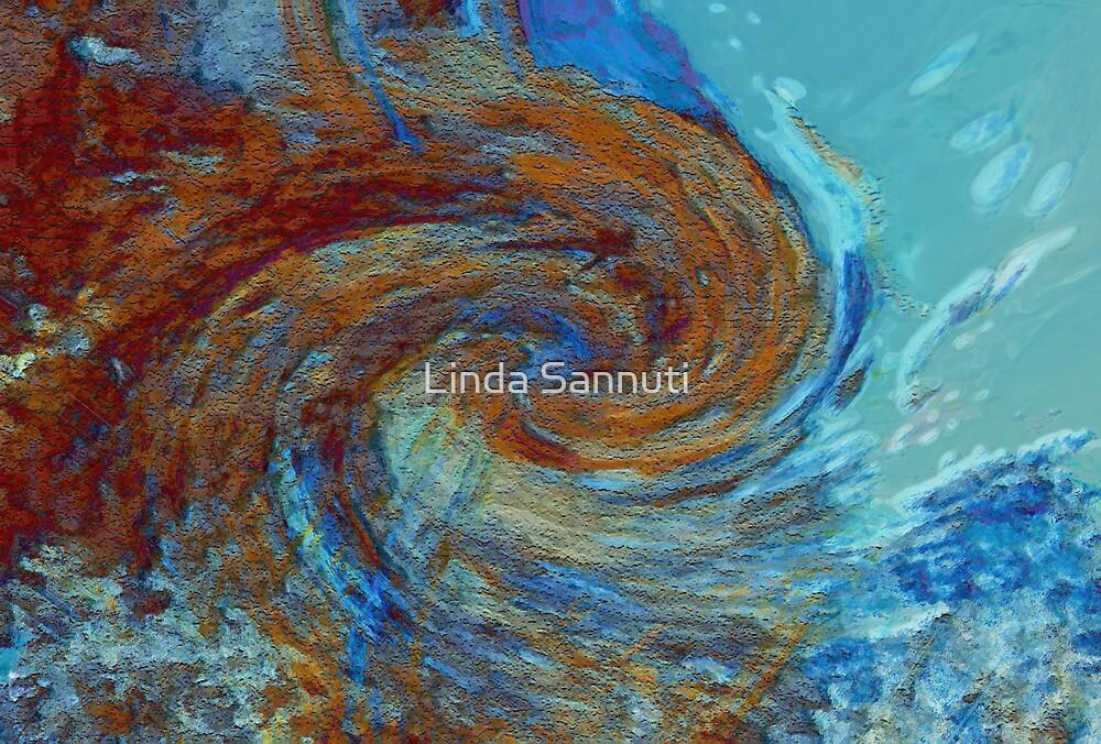 Ocean colors by Linda Sannuti