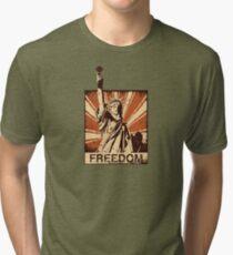 BARISTA FREEDOM! Tri-blend T-Shirt