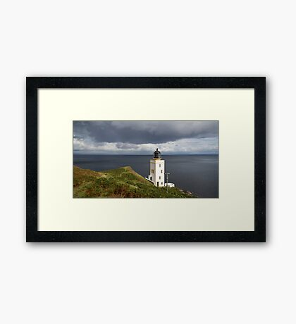 Lighthouse Holy Isle Arran Framed Print