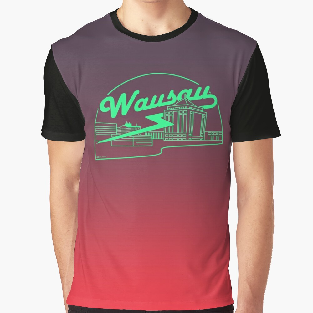 Wausau Skyline Graphic T-Shirt