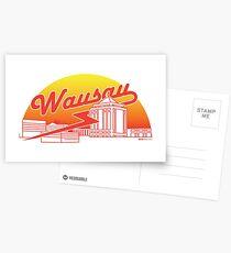 Wausau Skyline (Red) Postcards