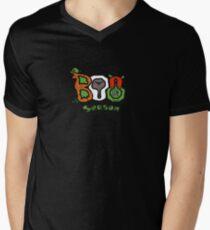 Boo Seasons Mens V-Neck T-Shirt