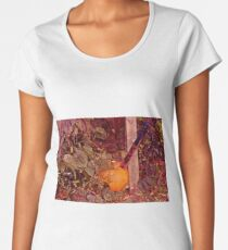 Machete Pumpkin Women's Premium T-Shirt