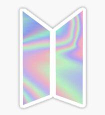 BTS LOGO - HOLO Sticker