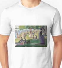 A Sunday Afternoon on the Island of La Grande Jatte by Georges Seurat Unisex T-Shirt