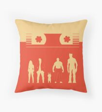 Guardians of the Graphixy Throw Pillow