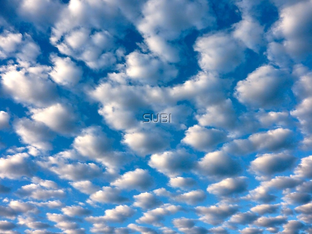 Quot Clouds Perspective Quot By Subi Redbubble