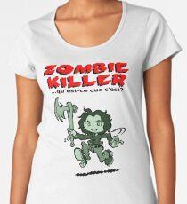 Zombie Killer Women's Premium T-Shirt