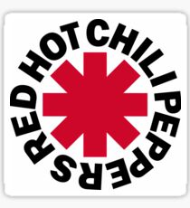 Red Hot Chilli Peppers Logo Sticker
