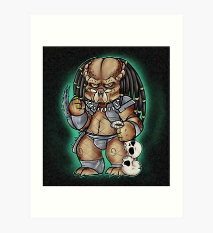 Predator Yautja Art Print