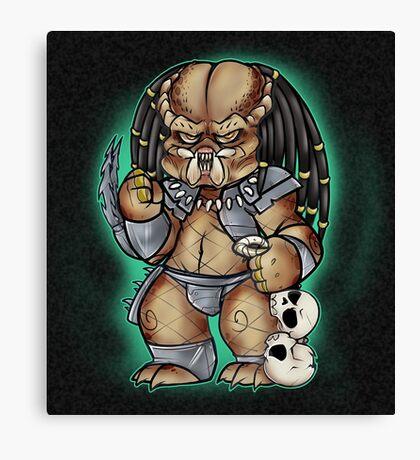 Predator Yautja Canvas Print
