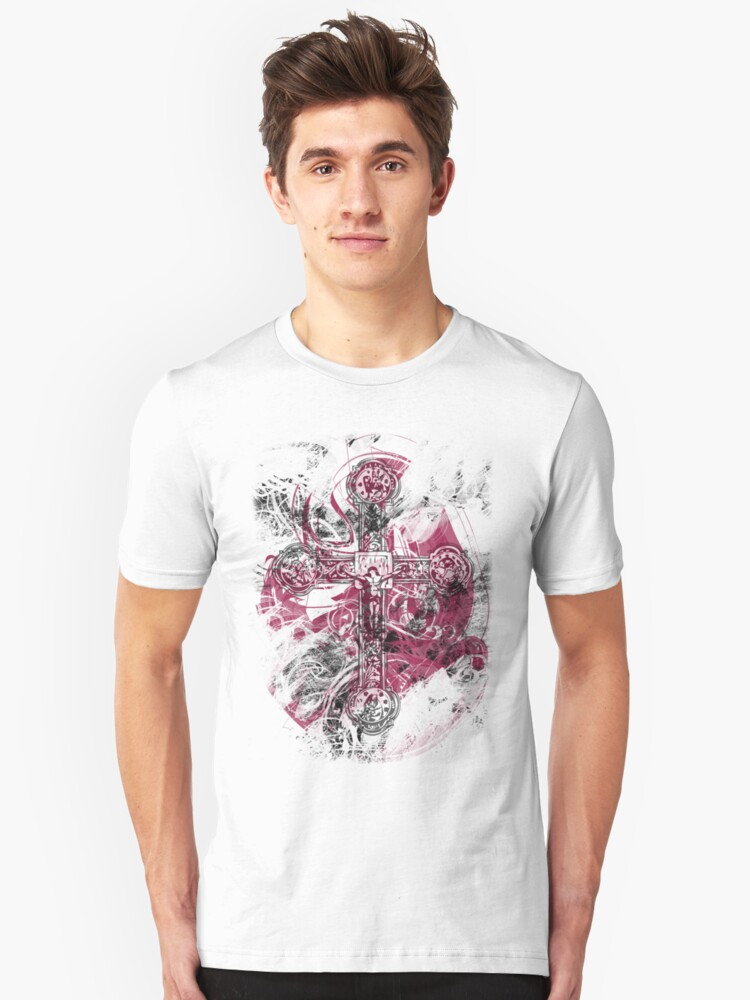 Blood on the Cross (T-Shirt) Unisex T-Shirt Front