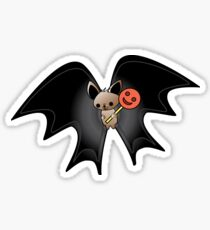 Oscar baby bat with candy (halloween magic collection) Sticker
